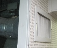 Mold in air conditioning vent