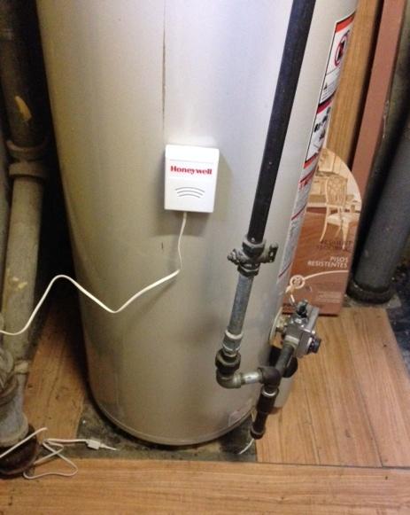 Water Leak Sensor for Hot Water Heater