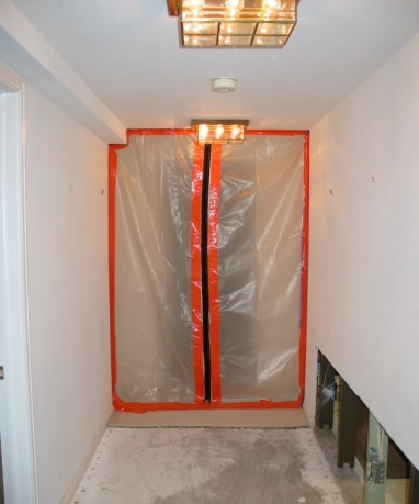 Mold Containment Barrier