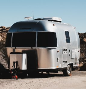 rv camper with mold